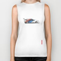 bmw Biker Tanks featuring BMW M1 by Remove Before . . .