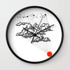the Clouds Wall Clock