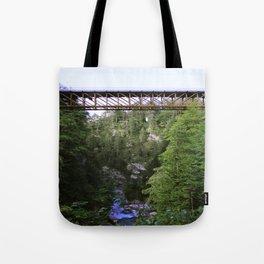 The iron bridge Tote Bag
