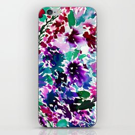 La Flor Plum iPhone Skin