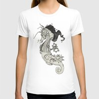 steam punk T-shirts featuring Steam Punk Horse  by FlyingFrogIllustration