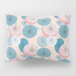 Modern Retro Pastel Pattern Pillow Sham