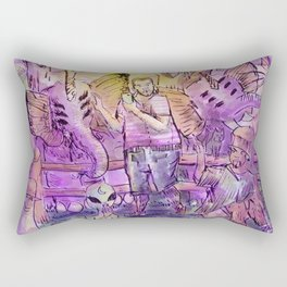 gays in the farm Rectangular Pillow