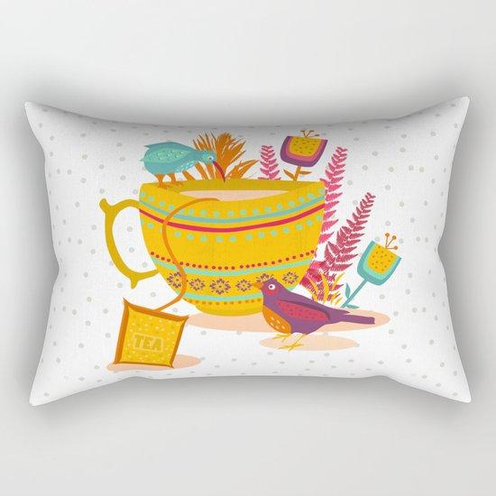 My cup of tea Rectangular Pillow