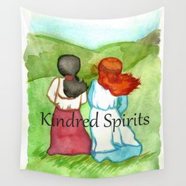 Kindred Spirits Anne of Green Gables Wall Tapestry