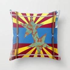 Altered State: AZ Throw Pillow