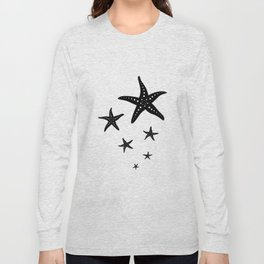 Minimal Starfishes Long Sleeve T-shirt