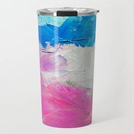 Colorful Oil Painting Travel Mug