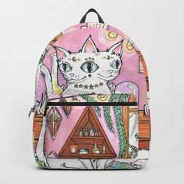 Gemini cat Backpack