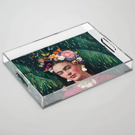 Frida Kahlo :: World Women's Day Acrylic Tray