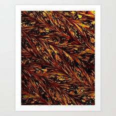 Golden Harvest Art Print