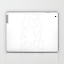 Flat-Coated-Retriever-tshirt,-just-freaking-love-my-Flat-Coated-Retriever Laptop & iPad Skin