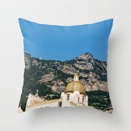 La Chiesa di Positano Throw Pillow