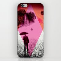 dessert iPhone & iPod Skins featuring DESSERT RAIN by d.ts