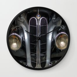 Old BMW Wall Clock