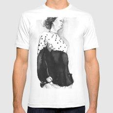 Fashion Illustration – Hana Cha S/S 2013 MEDIUM White Mens Fitted Tee