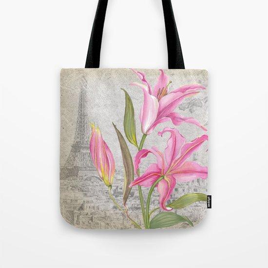 Macro Flower #6 Tote Bag