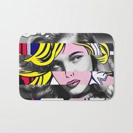 Roy Lichtenstein's M-Maybe & Lauren Bacall Bath Mat