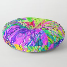 Neon Waters Floor Pillow