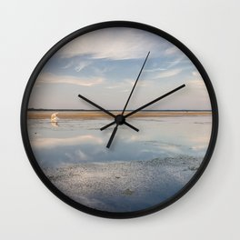 Sunset in Estonia Wall Clock