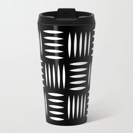 Industrial floor pattern Travel Mug