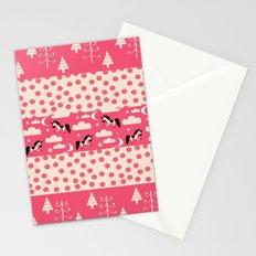 Unicorn Pink patchwork Stationery Cards