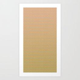 Groove Series - G Art Print