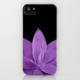 Purple Agave #1 #tropical #decor #art #society6 iPhone Case
