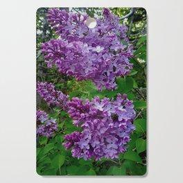 Lilacs in Bloom Cutting Board
