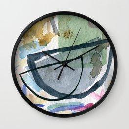 Abstract watercolor still life #1 Wall Clock