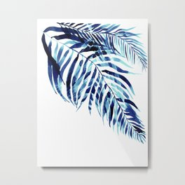 Palm trees holiday bliss Metal Print