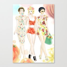 Dolce & Gabbana SS12 Illustration Canvas Print