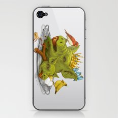 Furious Fowl iPhone & iPod Skin