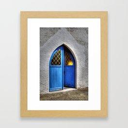 Small church Kempen Belgium Europa Framed Art Print