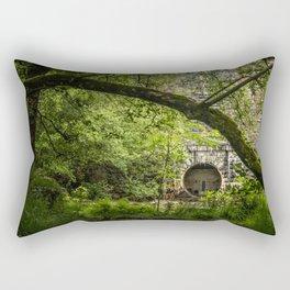 Pen Y Garreg Dam Rectangular Pillow