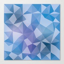 Geometric pyramids V2 Canvas Print