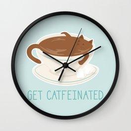 Catfeine Wall Clock