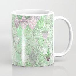 SUMMER MERMAID - GREEN & PINK Coffee Mug