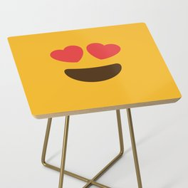 Love Face Side Table