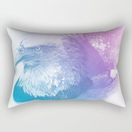 Animal Spirit Eagle Rectangular Pillow
