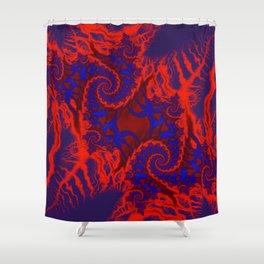 Heat Map Shower Curtain