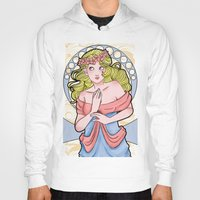 art nouveau Hoodies featuring Art Nouveau  by Brizy Eckert