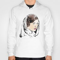 leia Hoodies featuring Leia by Hey!Roger