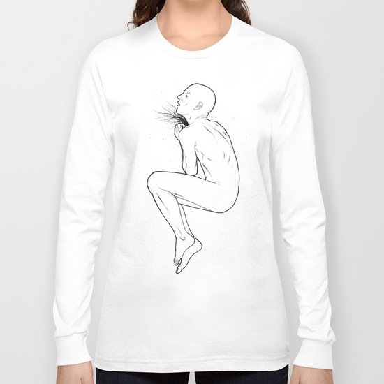 And Throat Long Sleeve T-shirt