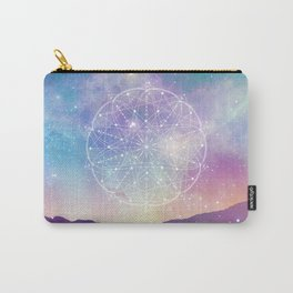Sacred Geometry (Interconnected) Carry-All Pouch