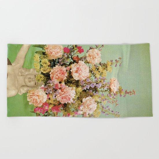 Floral Fashions II Beach Towel
