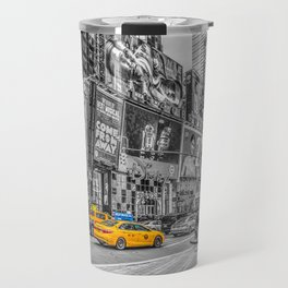 Yellow Taxi's Times Square Travel Mug