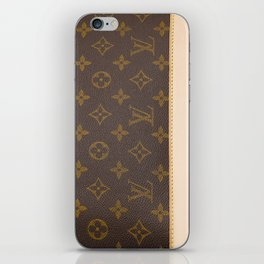 LV style Louis iPhone Skin