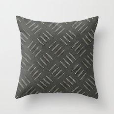 Metal Work Throw Pillow