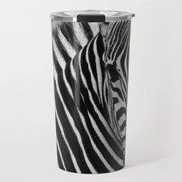 Zebra B&W Travel Mug